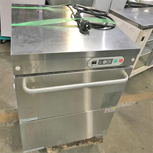 【中古】食器洗浄機 タニコー TDWC-406UE3 幅600×奥行600×高さ830 三相200V 60Hz専用 【送料無料】【業務用】