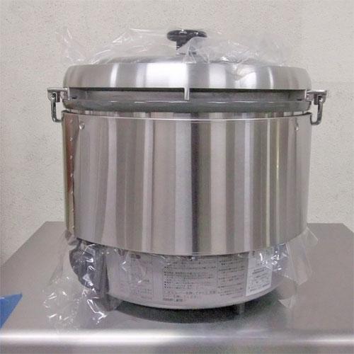【中古】ガス炊飯器 リンナイ RR-30S2 幅470×奥行430×高さ460 都市ガス 【送料別途見積】【業務用】