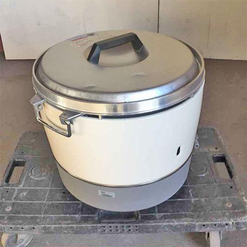 【中古】3升ガス炊飯器 リンナイ RR-30S1 幅450×奥行421×高さ425 都市ガス 【送料無料】【業務用】