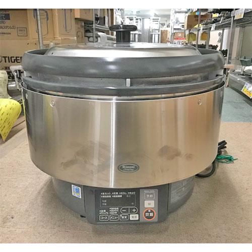 【中古】ガス炊飯器(マイコン制御タイプ) リンナイ RR-S500G 幅543×奥行506×高さ460 LPG(プロパンガス) 【送料別途見積】【業務用】