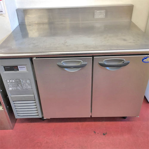 【中古】冷蔵コールドテーブル パナソニック(Panasonic) SUR-K1271S 幅1200×奥行750×高さ840 【送料無料】【業務用】