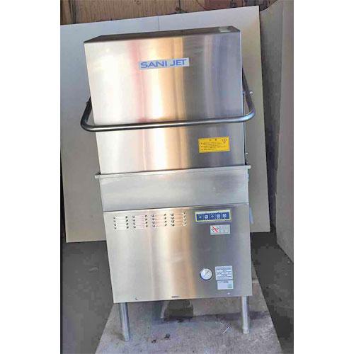 【中古】食器洗浄機 日本洗浄機 SD-82EA6 幅620×奥行620×高さ1350 三相200V 50Hz専用 【送料別途見積】【業務用】