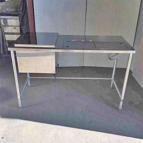 【中古】バーテーブル 幅1380×奥行600×高さ850 【送料無料】【業務用】