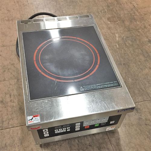 【中古】IH調理器 マルゼン 幅390×奥行600×高さ240 三相200V 【送料無料】【業務用】