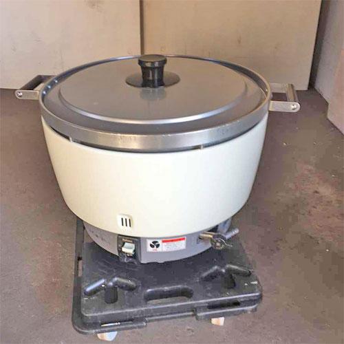 【中古】ガス炊飯器 パロマ PR-8DSS-1 幅570×奥行470×高さ420 LPG(プロパンガス) 【送料別途見積】【業務用】