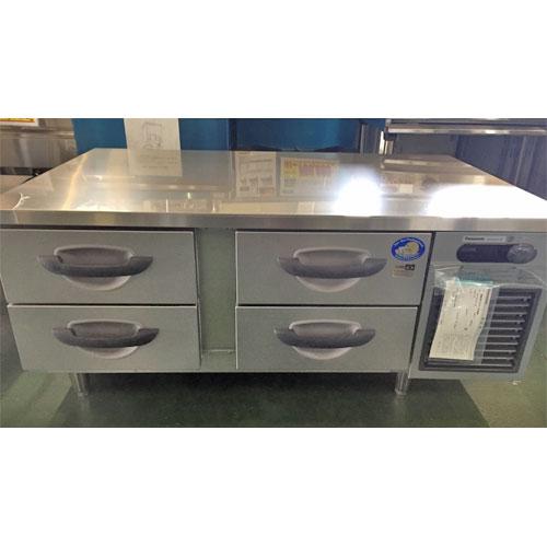 【中古】冷凍ドロワーコールドテーブル パナソニック SUF-DG1271-2B 幅1200×奥行750×高さ550 【送料別途見積】【業務用】