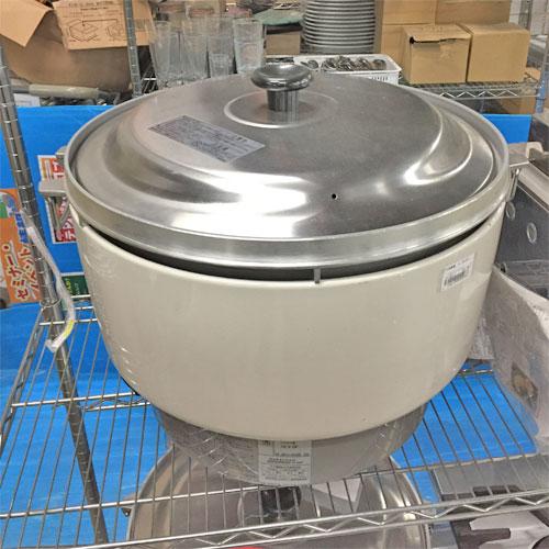 【中古】ガス炊飯器 リンナイ RR-50S1 幅525×奥行481×高さ434 LPG(プロパンガス) 【送料無料】【業務用】