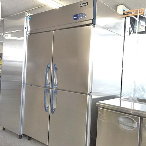【中古】4ドア冷蔵庫 大和冷機 423CD-NP-EC 幅1200×奥行800×高さ1900 三相200V 【送料別途見積】【業務用】