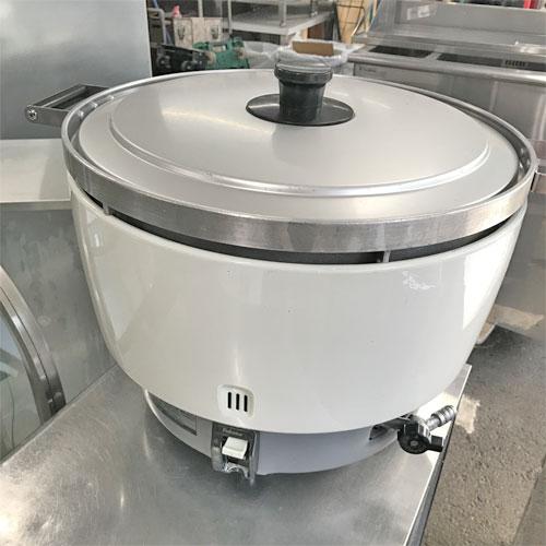 【中古】ガス炊飯器 パロマ PR-8DSS-1 幅573×奥行470×高さ414 都市ガス 【送料別途見積】【業務用】