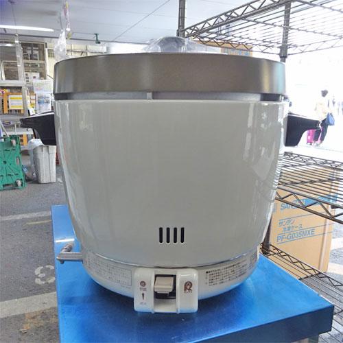 【中古】炊飯器2升 リンナイ RR-20SF2 幅431×奥行348×高さ331 都市ガス 【送料別途見積】【業務用】
