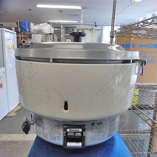 【中古】炊飯器4升 リンナイ RR-40S1-F 幅450×奥行421×高さ407 都市ガス 【送料別途見積】【業務用】