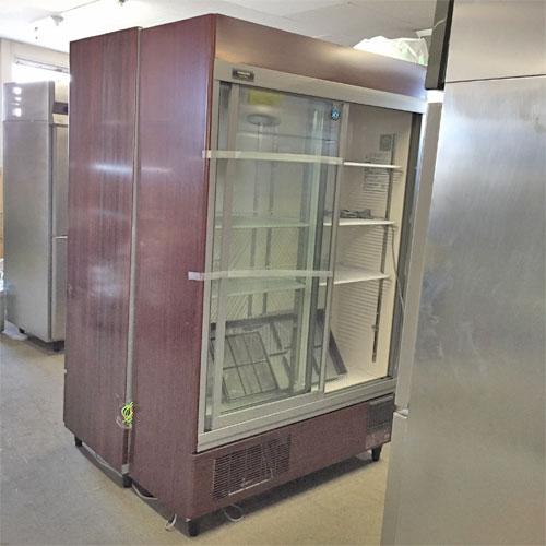 【中古】冷蔵リーチインショーケース ホシザキ RSC-120DT-B 幅1200×奥行450×高さ1870 【関東地域のみ配送可能商品】【送料別途見積】【業務用】