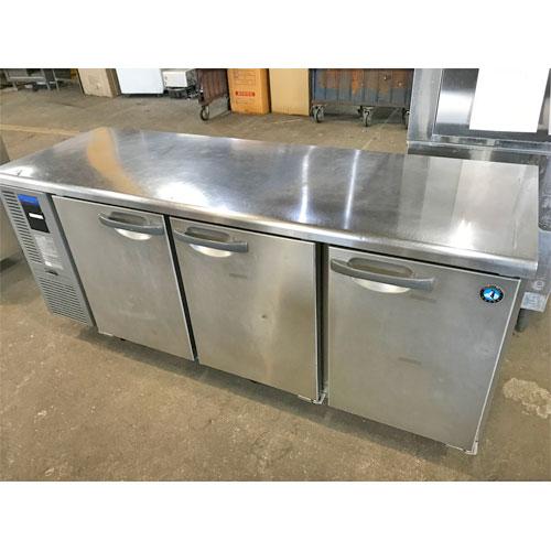 【中古】冷蔵コールドテーブル ホシザキ RT-180SNF 幅1800×奥行600×高さ800 【送料無料】【業務用】