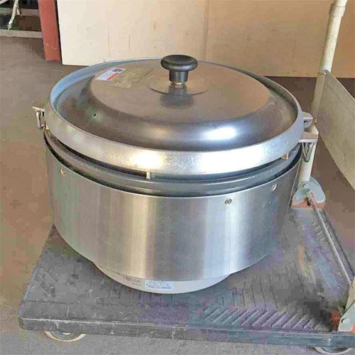 【中古】炊飯器 リンナイ RR-50S2 幅543×奥行506×高さ436 都市ガス 【送料別途見積】【業務用】