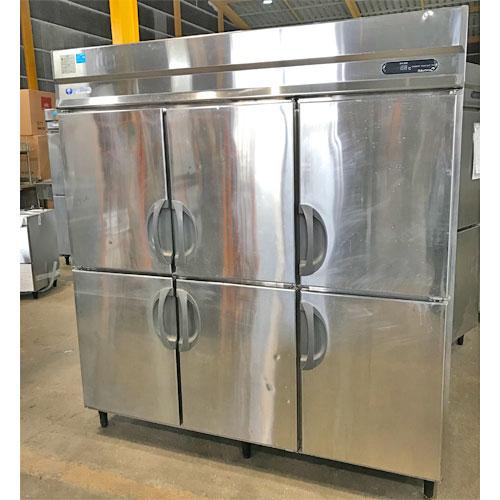 【中古】縦型冷蔵庫 福島工業(フクシマ) URD-60RM1 幅1800×奥行800×高さ1870 【送料無料】【業務用】