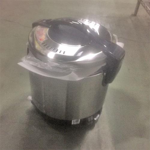 【中古】ガス炊飯器 リンナイ RR-S100GS 幅309×奥行292×高さ349 都市ガス 【送料別途見積】【業務用】