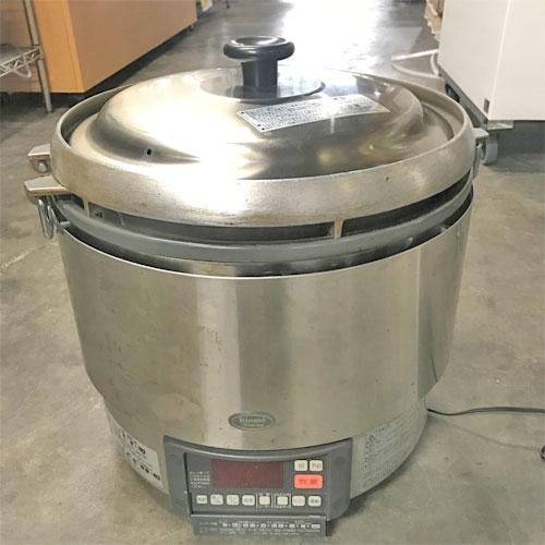 【中古】ガス炊飯器 リンナイ RR-30G2 幅466×奥行439×高さ460 都市ガス 【送料別途見積】【業務用】