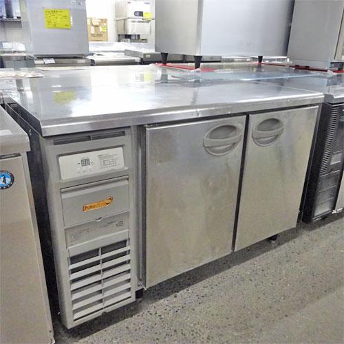 【中古】冷蔵コールドテーブル 福島工業(フクシマ) YRC-120RM 幅1200×奥行600×高さ800 【送料別途見積】【業務用】
