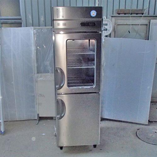 【中古】縦型冷蔵庫 福島工業(フクシマ) ARD-060RM 幅610×奥行800×高さ1950 【送料別途見積】【業務用】
