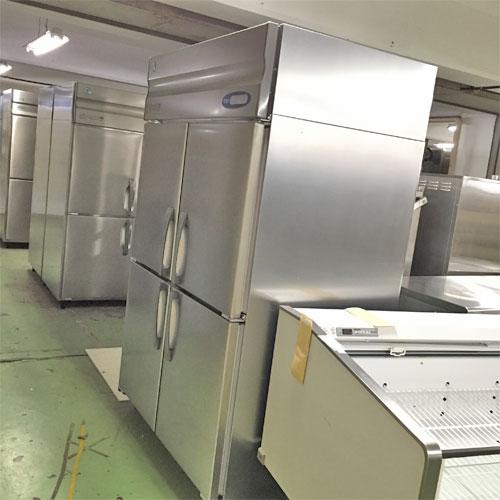 【中古】4ドア冷蔵庫 ホシザキ HR-120Z-ML 幅1200×奥行800×高さ1890 【送料別途見積】【業務用】