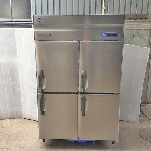 【中古】4ドア縦型冷蔵庫 ホシザキ HR-120Z 幅1200×奥行800×高さ1890 【送料別途見積】【業務用】