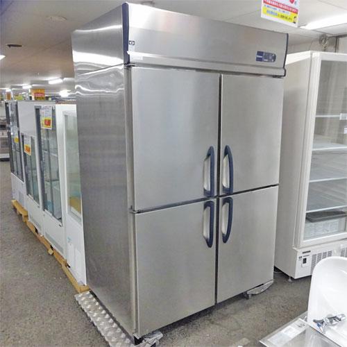 【中古】縦型冷凍庫 大和冷機 413SS-EC 幅1200×奥行800×高さ1905 三相200V 【送料別途見積】【業務用】
