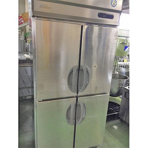 【中古】4ドア冷蔵庫 福島工業(フクシマ) URN-090RM6-F 幅900×奥行650×高さ1950 【送料別途見積】【業務用】