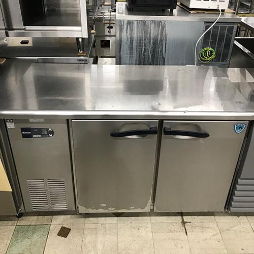 【中古】冷蔵コールドテーブル 大和冷機 4061CD-EC 幅1200×奥行600×高さ800 【送料無料】【業務用】