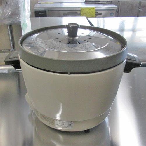 【中古】ガス炊飯器 リンナイ RR-15-SF 幅431×奥行335×高さ341 LPG(プロパンガス) 【送料無料】【業務用】