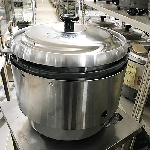 【中古】ガス炊飯器 リンナイ RR-30S2-B 幅466×奥行438×高さ442 都市ガス 【送料無料】【業務用】