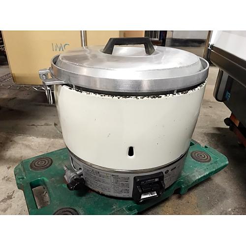 【中古】ガス炊飯器 リンナイ RR-30S1LP 幅450×奥行421×高さ407 LPG(プロパンガス) 【送料無料】【業務用】