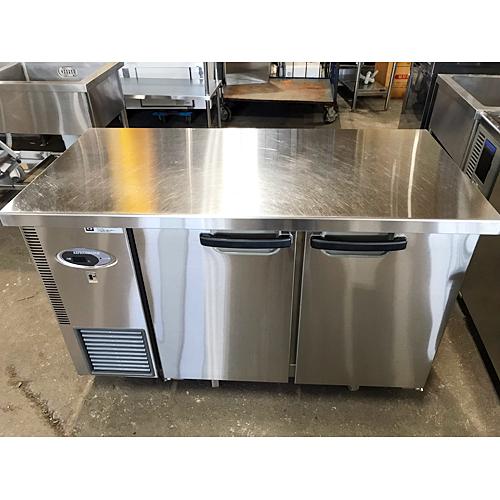 【中古】冷蔵コールドテーブル フジマック FRT1260J 幅1200×奥行600×高さ800 【送料無料】【業務用】