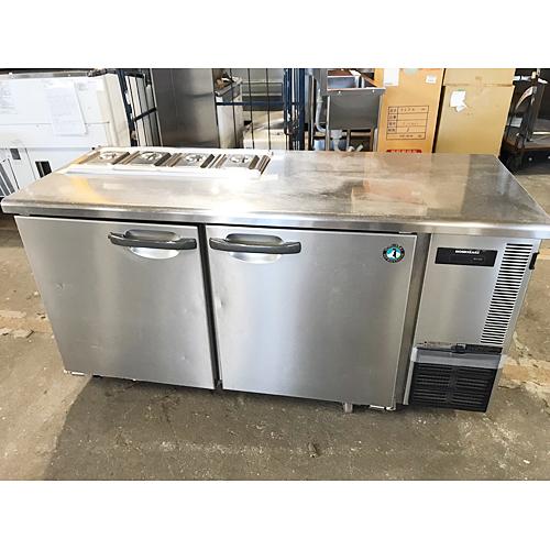 【中古】冷蔵コールドテーブル ホシザキ RT-150SNE-ML 幅1500×奥行600×高さ800 【送料無料】【業務用】