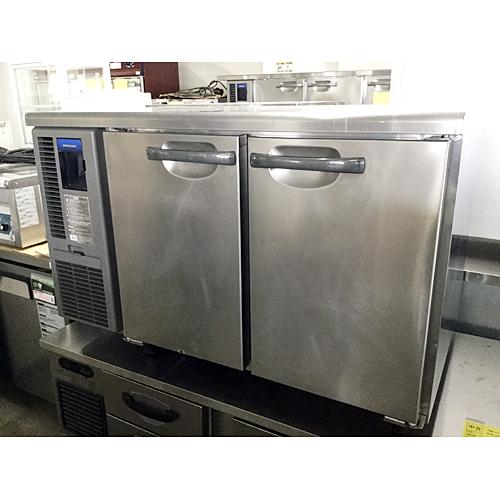 【中古】冷蔵コールドテーブル ホシザキ RT-120SDF-H 幅1200×奥行750×高さ800 【送料別途見積】【業務用】
