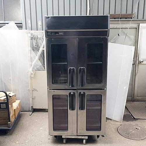 【中古】縦型冷蔵庫 サンヨー SRR-J981VS 幅900×奥行800×高さ1950 【送料別途見積】【業務用】