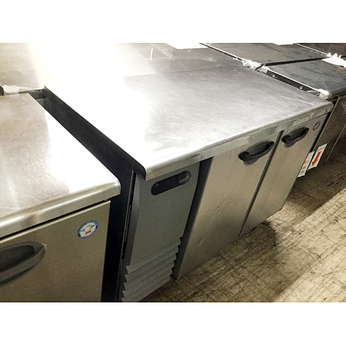 【中古】冷蔵コールドテーブル 三洋電機 SUR-G1261S 幅1200×奥行600×高さ800 【送料別途見積】【業務用】