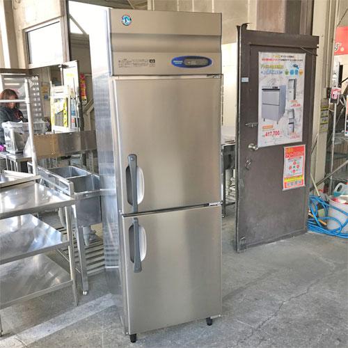 【中古】縦型冷蔵庫 ホシザキ HR-63Z 幅630×奥行800×高さ1890 【送料別途見積】【業務用】