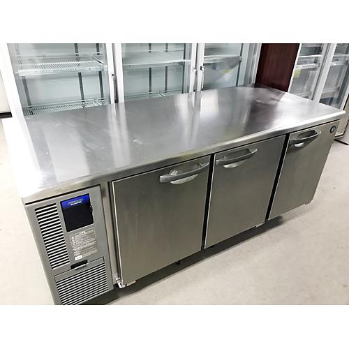 【中古】冷蔵コールドテーブル ホシザキ RT-180SDF-E 幅1800×奥行750×高さ800 【送料無料】【業務用】