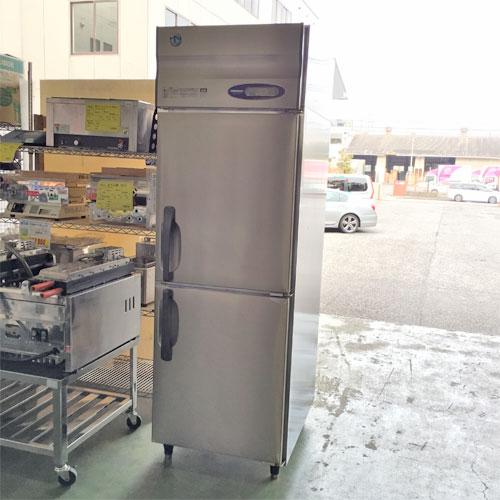 【中古】2ドア冷蔵庫 ホシザキ HR-63Z 幅620×奥行800×高さ1890 【送料別途見積】【業務用】