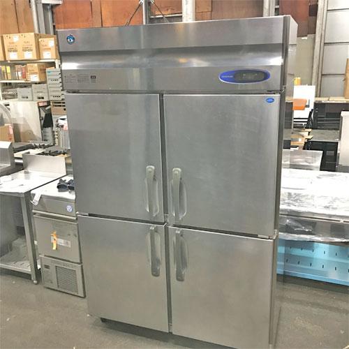 【中古】縦型冷凍冷蔵庫 ホシザキ HRF-120LZT 幅1200×奥行650×高さ1890 三相200V 【送料別途見積】【業務用】