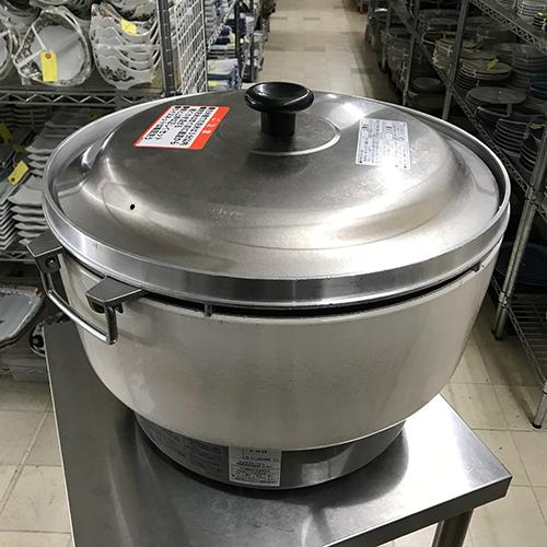 【中古】ガス炊飯器 4升 リンナイ RR-40S 幅525×奥行481×高さ421 LPG(プロパンガス) 【送料無料】【業務用】