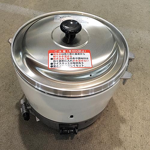 【中古】ガス炊飯器 リンナイ RR-30S1 幅450×奥行421×高さ408 都市ガス 【送料無料】【業務用】