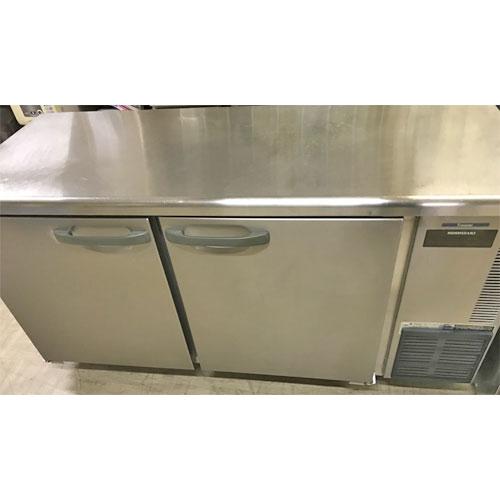 【中古】冷凍コールドテーブル ホシザキ FT-150SNE-R 幅1500×奥行600×高さ800 【送料別途見積】【業務用】