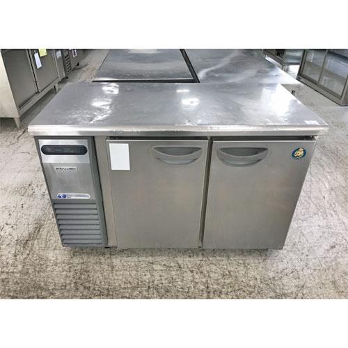 【中古】冷蔵コールドテーブル キタザワ TRC-40RE1 幅1200×奥行600×高さ800 【送料別途見積】【業務用】