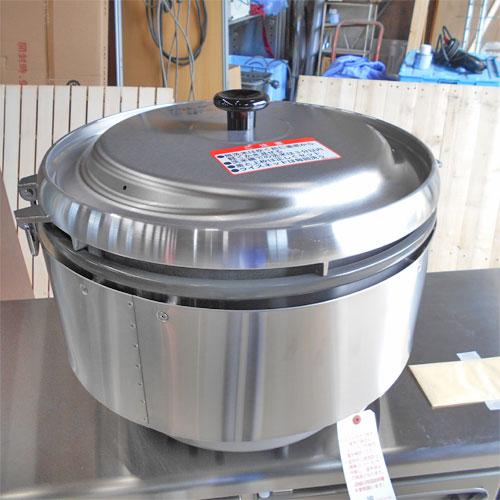 【中古】ガス炊飯器 リンナイ RR-50S2 幅543×奥行506×高さ442 都市ガス 【送料別途見積】【業務用】