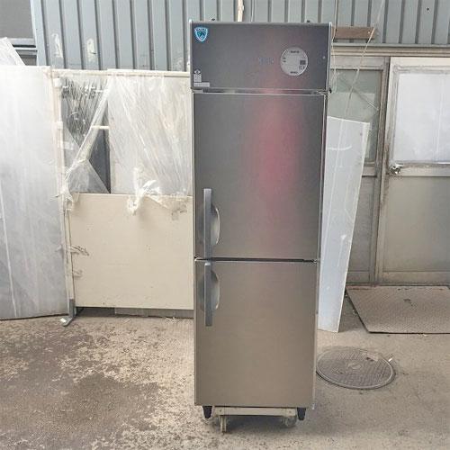 【中古】2ドア縦型冷凍庫 ダイワ 221SS-EC 幅600×奥行800×高さ1900 【送料別途見積】【業務用】