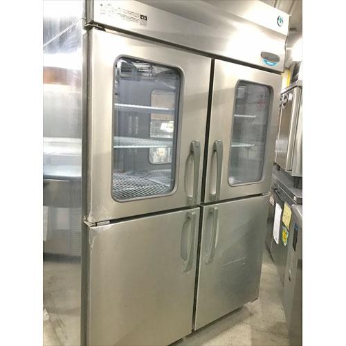 【中古】縦型冷蔵庫 ホシザキ HR-120X3-4D4D 幅1200×奥行850×高さ1950 三相200V 【送料別途見積】【業務用】