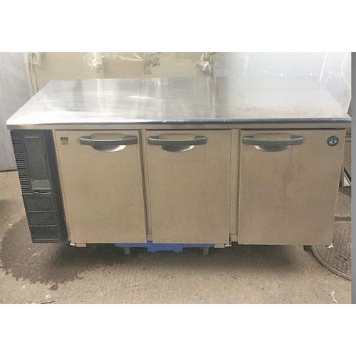 【中古】冷蔵コールドテーブル ホシザキ RT-150PNE1 幅1500×奥行600×高さ800 【送料無料】【業務用】
