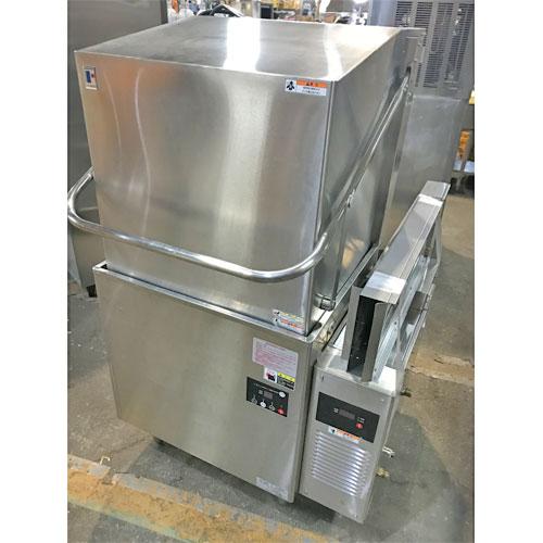 【中古】食器洗浄機 フジマック FDW60FL75 幅670×奥行750×高さ1435 三相200V 60Hz専用 【送料無料】【業務用】