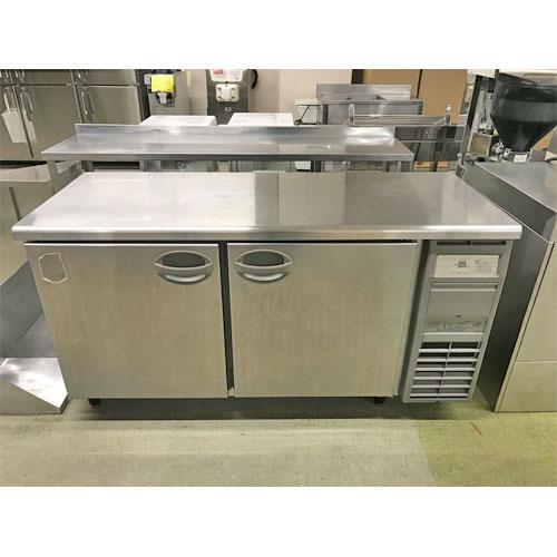 【中古】冷蔵コールドテーブル フクシマガリレイ(福島工業) YRC-150RM-R(改) 幅1500×奥行600×高さ800 【送料別途見積】【業務用】